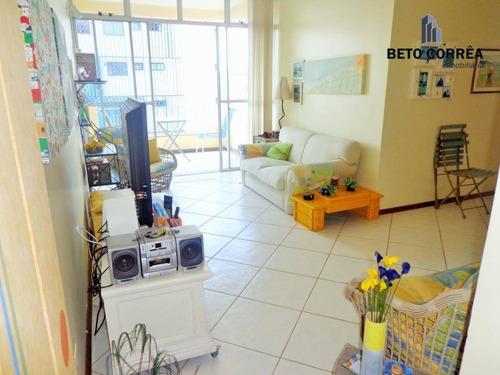 guarujá, enseada - excelente apartamento, próximo a praia, 3 amplos dormitórios (1 suíte), sala com sacada, mobiliado, total 3 banheiros, melhor local - ap0289