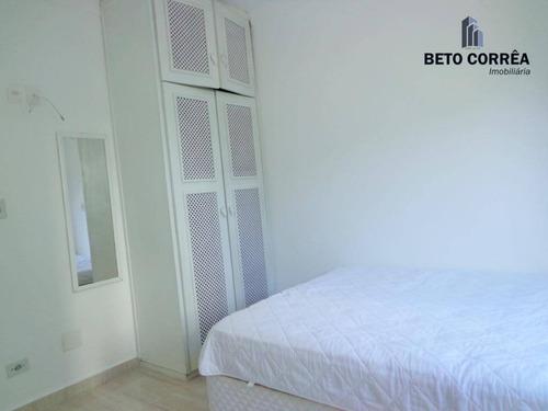 guarujá, enseada - excelente apto, 3 dorms (1 suite), mobiliado, próx. a praia - ap0199
