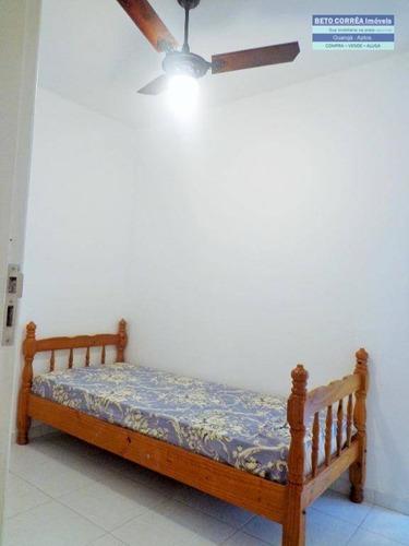 guarujá, enseada - excelente apto com 3 dorms, todo reformado - ap0172