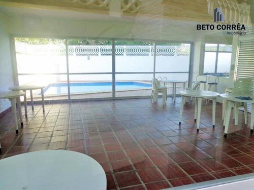 guarujá, enseada - excelente sobrado em condomínio fechado, frente a praia no guarujá - so0003