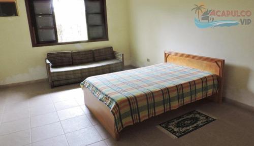 guarujá - jardim acapulco - 1050,00 metros de terreno - 05 suítes - 06 vagas de garagem e lazer! - ca0098