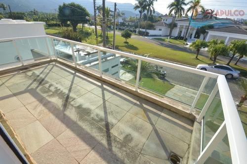 guarujá - jardim acapulco - 5 suítes - 1.000 metros - nunca habitada !!! - ca0235