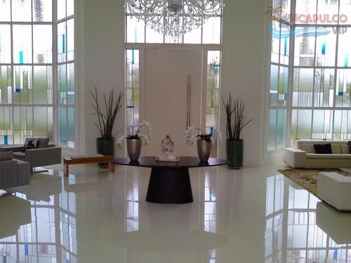 guarujá - jardim acapulco - 8 suítes - 1860 metros de área construída - elevador - 10 vagas !!! - ca0080
