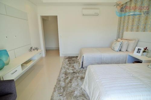 guarujá jardim acapulco - nova - 7 suites - 1.000 metros !!! - ca0038