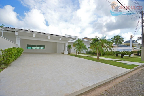 guarujá - jardim acapulco - nova - residência térrea - terreno com 2.000 metros !!! - ca0041