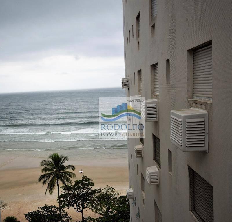 guarujá pitangueiras, 3 dormitórios, 1 suite, vista mar, 1 vaga, ótima localização - ap0826