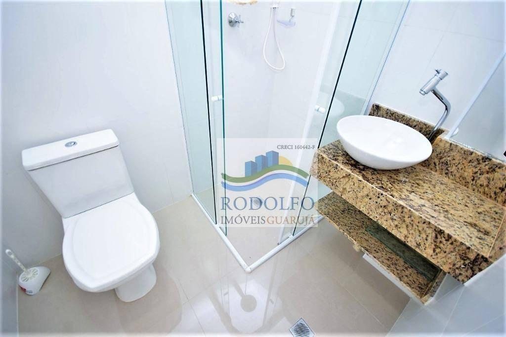 guarujá pitangueiras, reformado, 4 dormitórios, ( 2 suites ), 210 mts uteis, vista total, ótima localização - ap0841