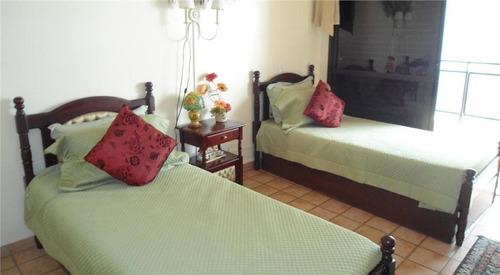 guarujá - praia de pitangueiras - alto padrão - 03 dormitórios - vista mar - ap0912