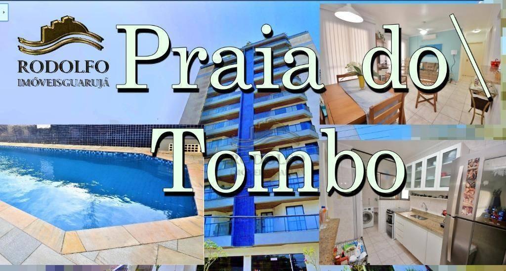 guarujá tombo 2 dts ( 1 suíte) sacada, elevador, portaria 24 hrs, lazer com piscinas e muito mais!! - ap0913
