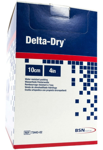 guata sintetica delta dry bsn 10 cm x 2.4 m kit 2 pzs
