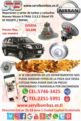 guatemala reparacion de turbocargadores diesel