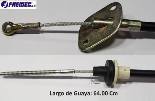 guaya croche embrague fiat uno premio 99/04 pieza metal
