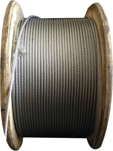 guaya de acero 1/4 galvanizada