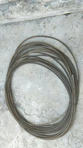guaya de acero trenzado  alma de fibra 1/2 (8mm)    51 mts