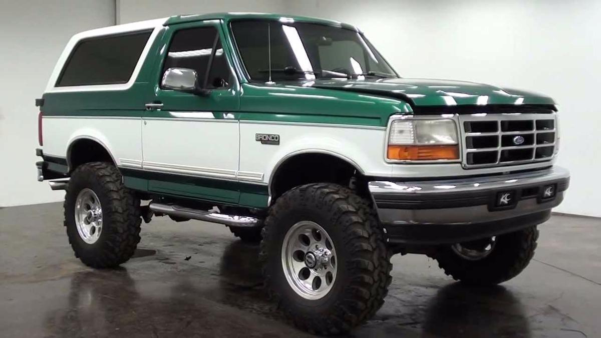 Guaya De Capot Universal Ford Bronco Pickup F150 F350 Bs