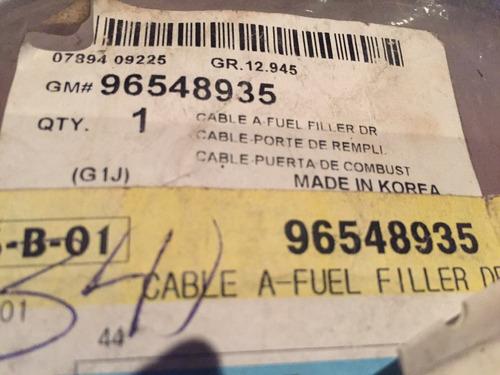 guaya tapa gasolina optra original