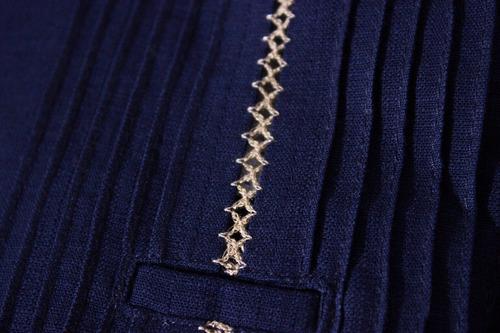 guayabera de lino mod. baca, manga larga. somos fabricantes!