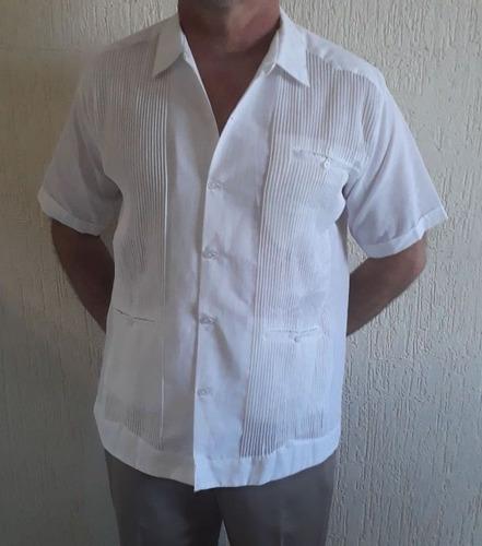 guayabera de lino presidencial mc