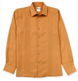 e6dc09ce2d Guayabera De Telas Finas De Yucatan 100% Lino Orange