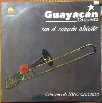 guayacan, con el corazon abierto vinilo colombia 1993