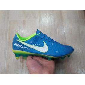 3ae0326c5bc85 Guayos Nike Mercurial Azules - Guayos de Fútbol en Mercado Libre Colombia