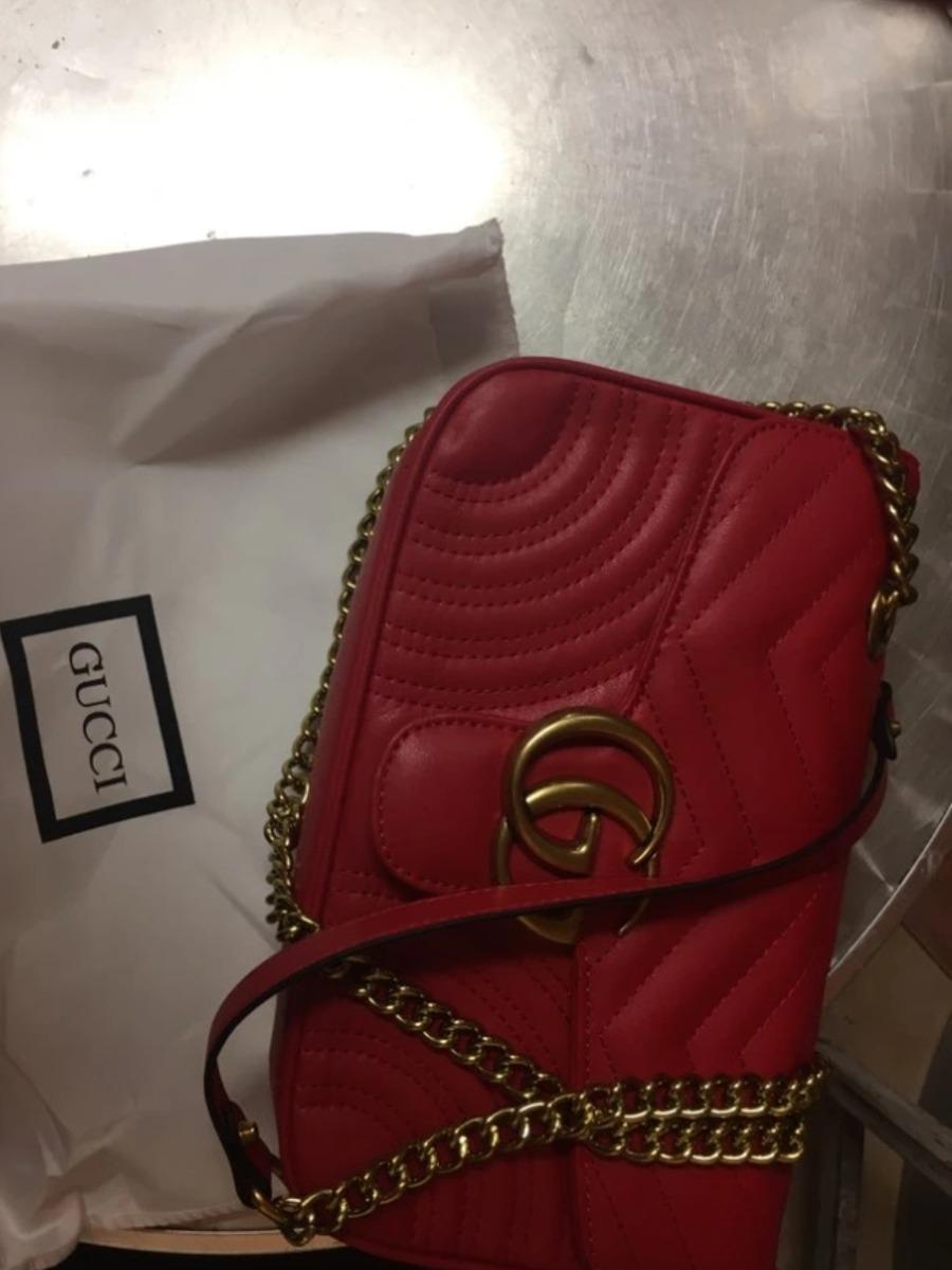 e236fb6be Bolsa Gucci Marmont Grife Luxo Moda Feminina - R$ 890,00 em Mercado ...