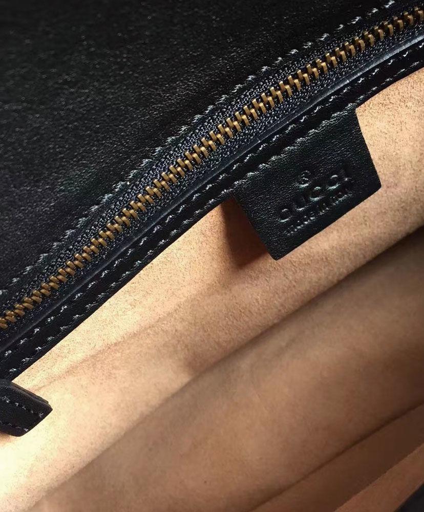 e69f0e5f5ca Carregando zoom... bolsa em couro gucci gg marmont feminina - pronta entrega