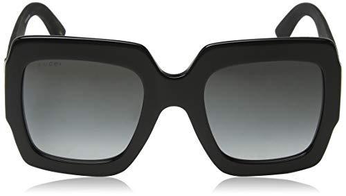 57d122f2b70 Gucci Gg0102s 001 Negro   Gris Gg0102s Gafas Cuadradas ...