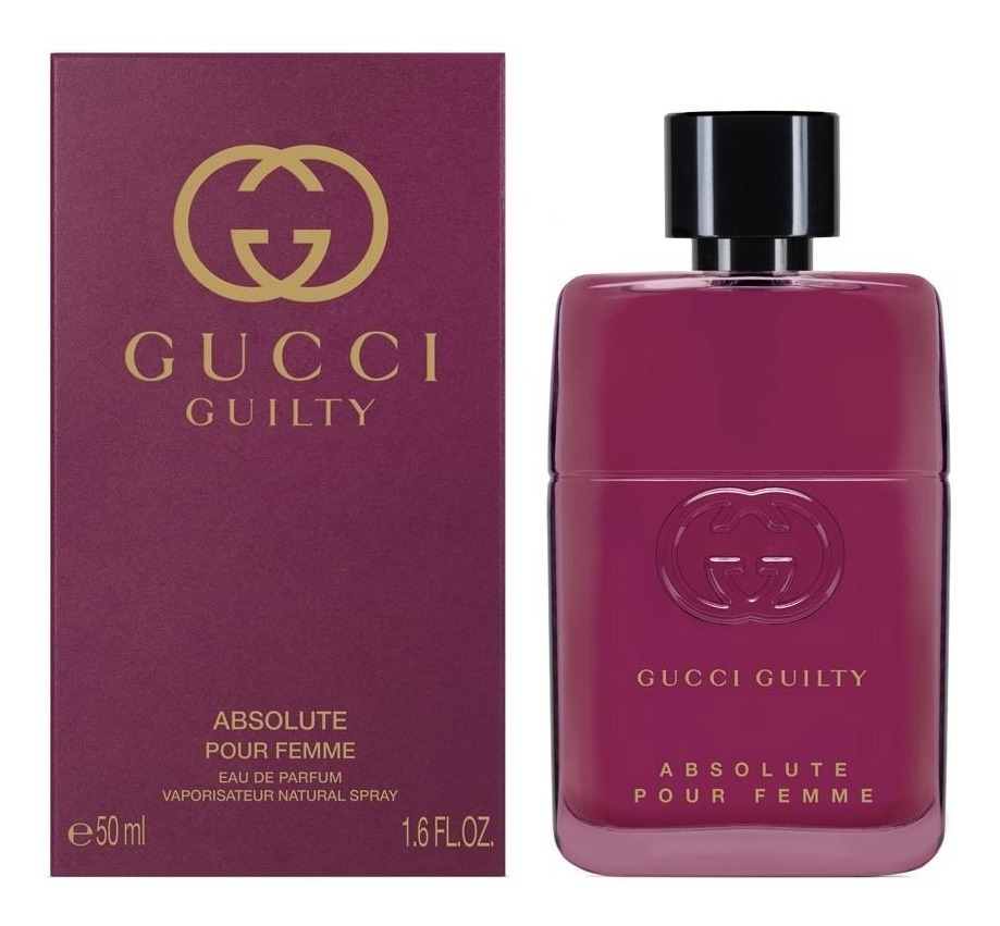 a030dcb05 gucci guilty absolute edp 50ml feminino + amostra de brinde. Carregando  zoom.