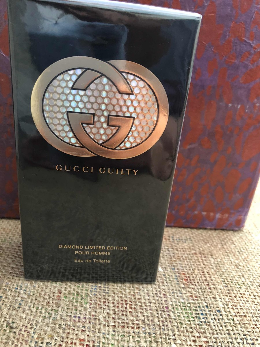 c8fb95a0031 gucci guilty - hombre - edt - 90ml - diamond limited edition. Cargando zoom.