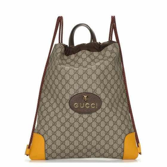 58fde844e15f Gucci Hermoso Bolso Backpack 100% Original -   15