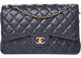 44cbac846 Bolsa Chanel 255 Medium Caviar - Bolsas no Mercado Livre Brasil