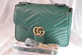 206d3458d Bolsa Gucci Tigres - Bolsas Verde musgo en Mercado Libre México