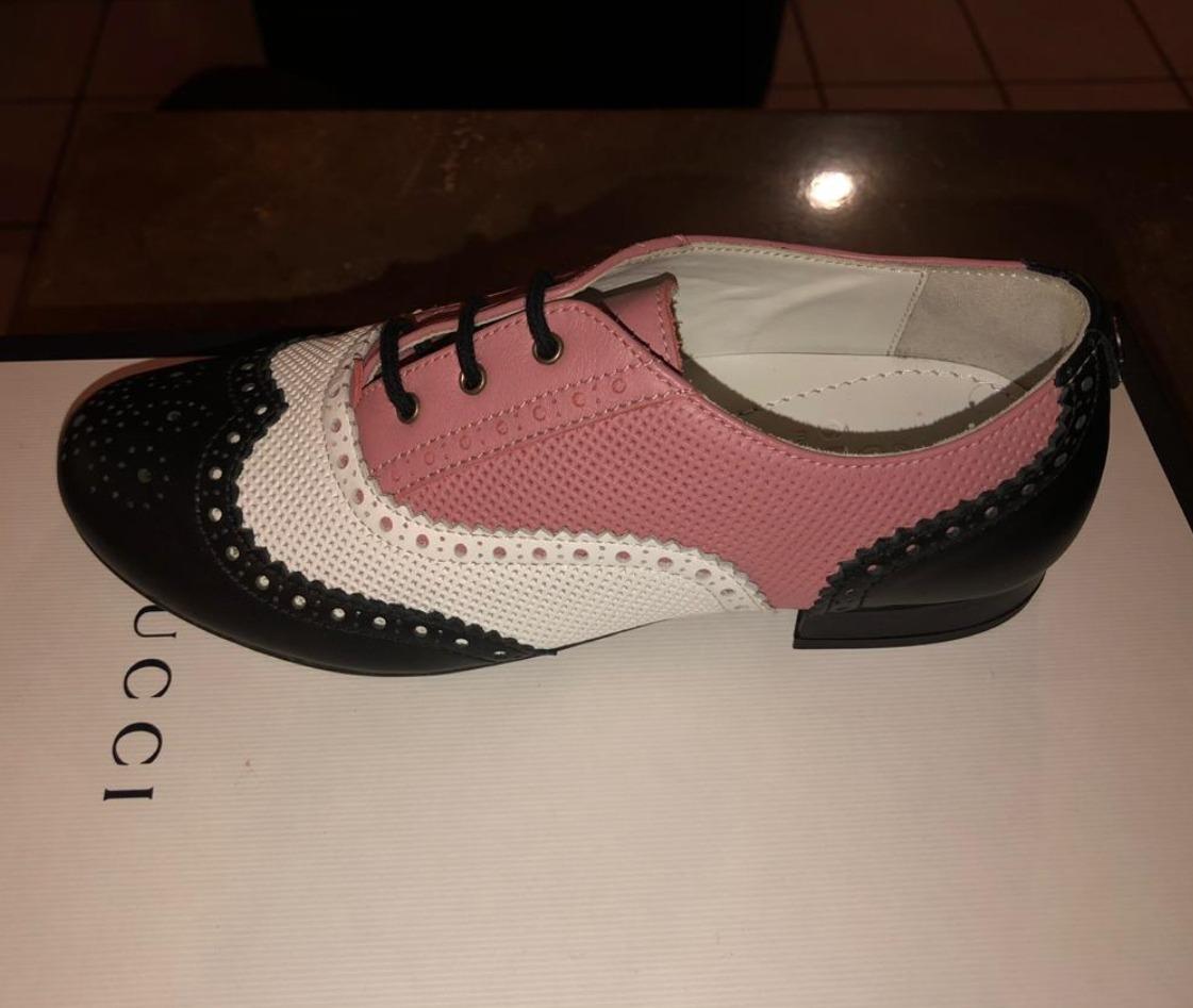Cargando zoom... zapatos gucci para niña estilo bostonianos 75e81f943eb