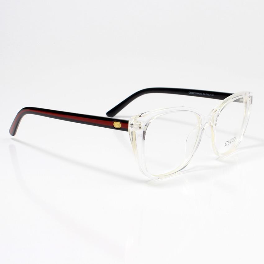 16bfc89949f68 Carregando zoom... armação de para grau gucci xh58659-10 oculos transparente