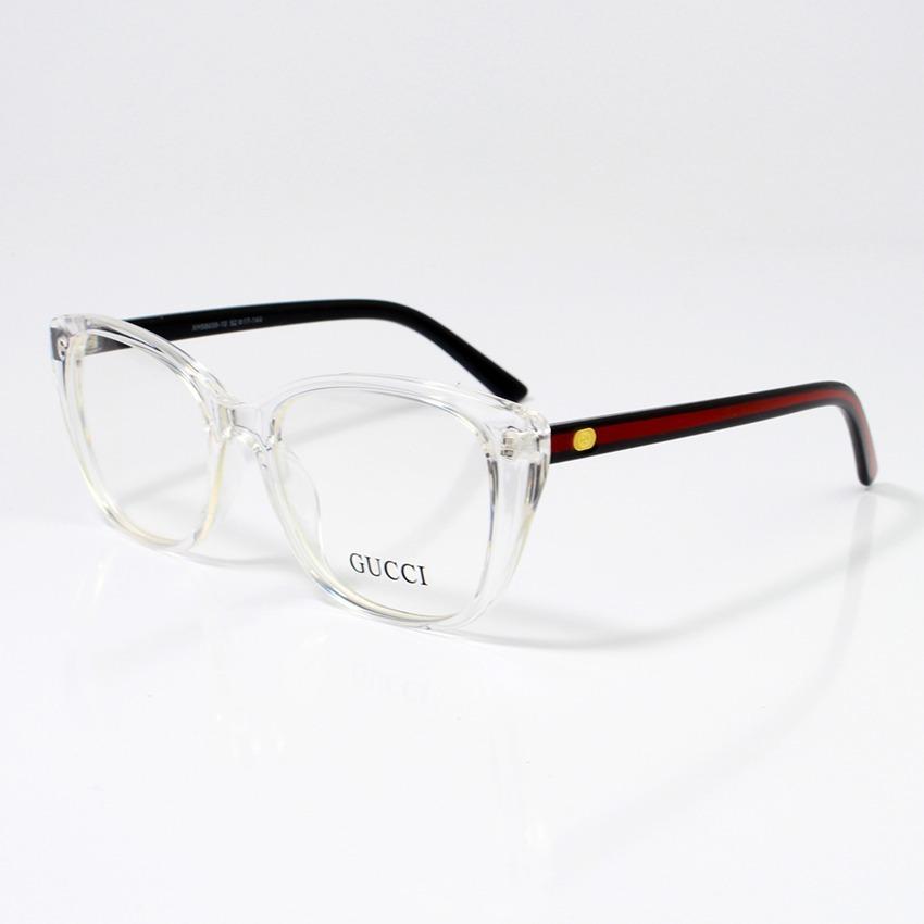 fdd68e71eb12b Armação De Para Grau Gucci Xh58659-10 Oculos Transparente - R  120 ...