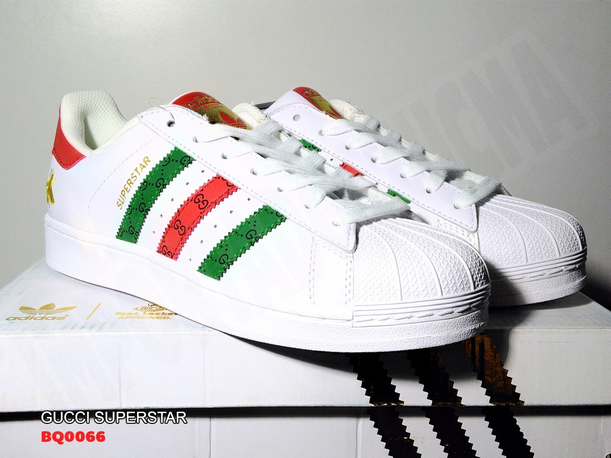 b4d0fa52d9d7 gucci x adidas superstar 80s originals. Cargando zoom.