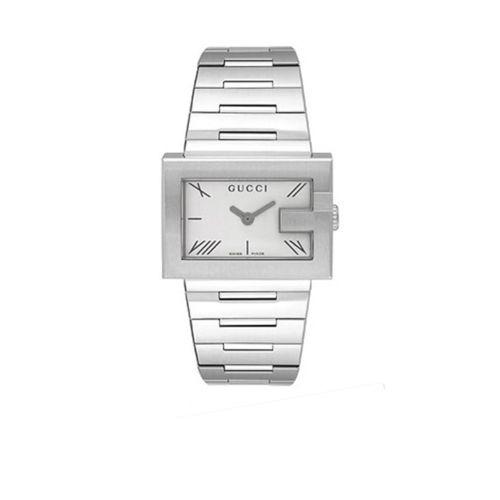 91832cec2 Gucci Ya100506 Reloj De Cuarzo Plateado 100 G Para Mujer ...