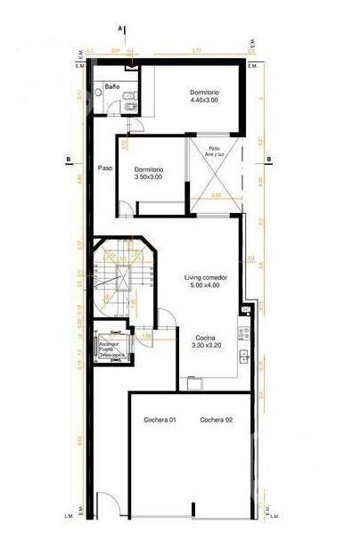 güemes 2773 - 1°a - 1 dormitorio