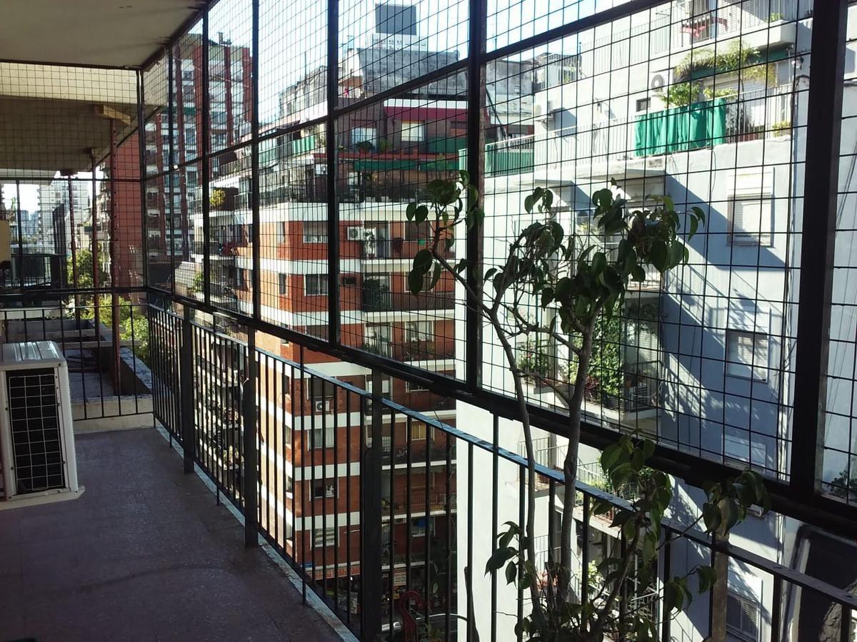 güemes y salguero-3 amb, balcón, al frente, 70m2 totales-venta depto barrio norte