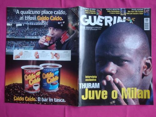 guerin sportivo nº 11 año 2001 - juve o milan