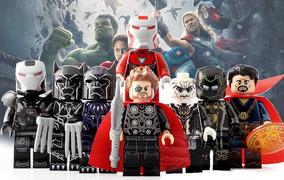 Vingadores Guerra Infinita Pantera Negra Iron Man Thor Ronin