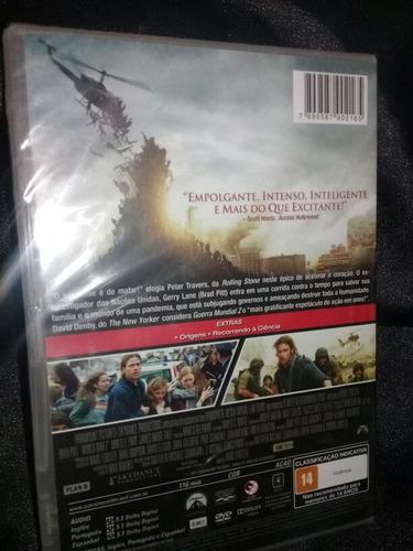 guerra mundial z - dvd filme - novo/lacrado