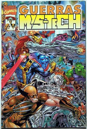 guerras mys-tech - mini-série completa em 2 edições