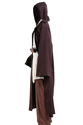 guerrera de las galaxias obi-wan kenobi traje de halloween