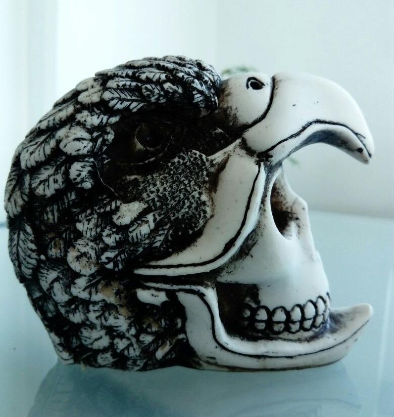Guerrero águila Azteca Calavera Cráneo Mexican Skull 16500