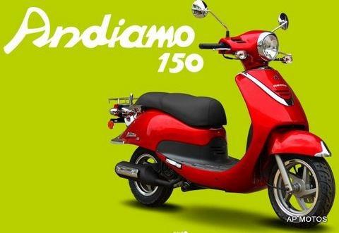 guerrero andiamo gsl 150 scooter 2018 0km motos ap oficial