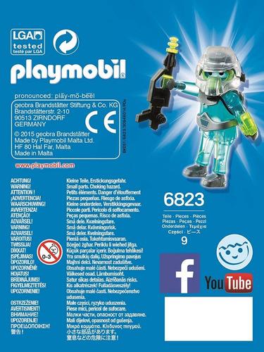 guerrero del espacio 6823 - playmobil