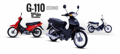 guerrero g110 trip - masera motos - consulte financiación