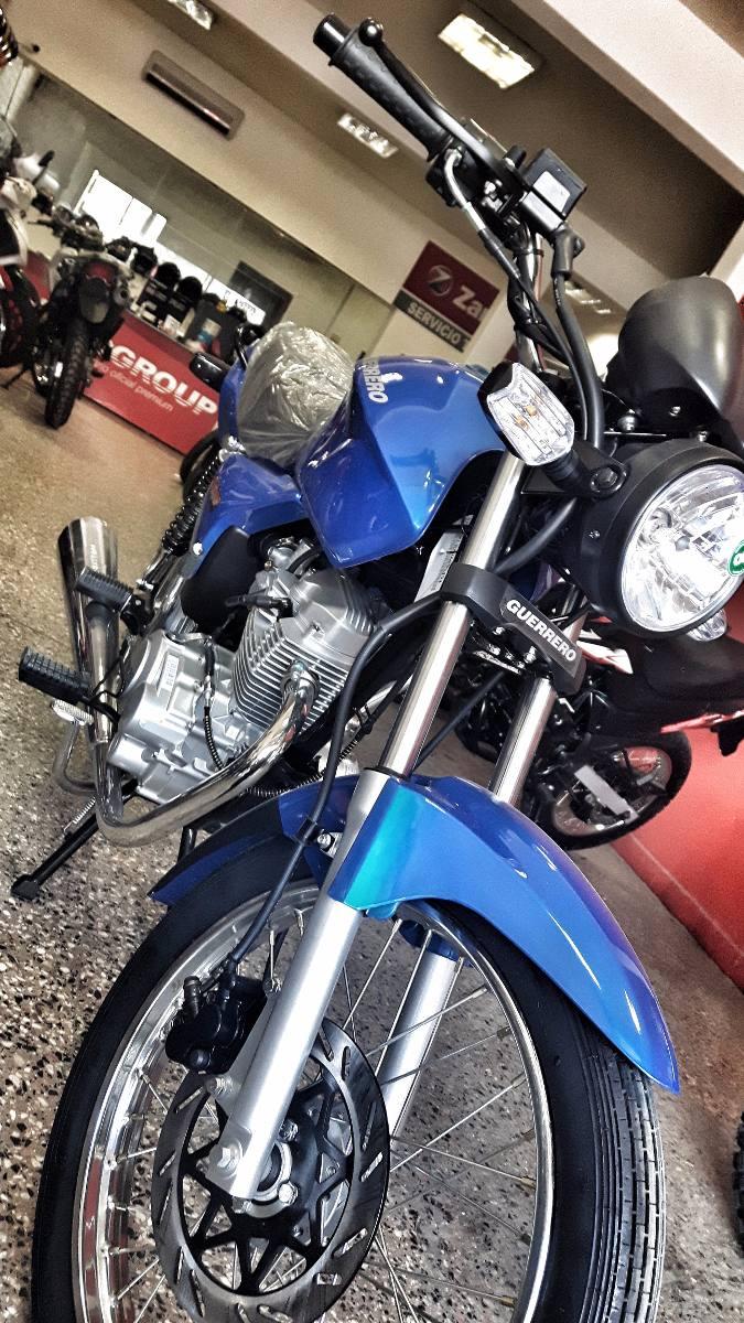 Moto Guerrero Trip 110 Econo Wave Blitz Al | Mercado Libre